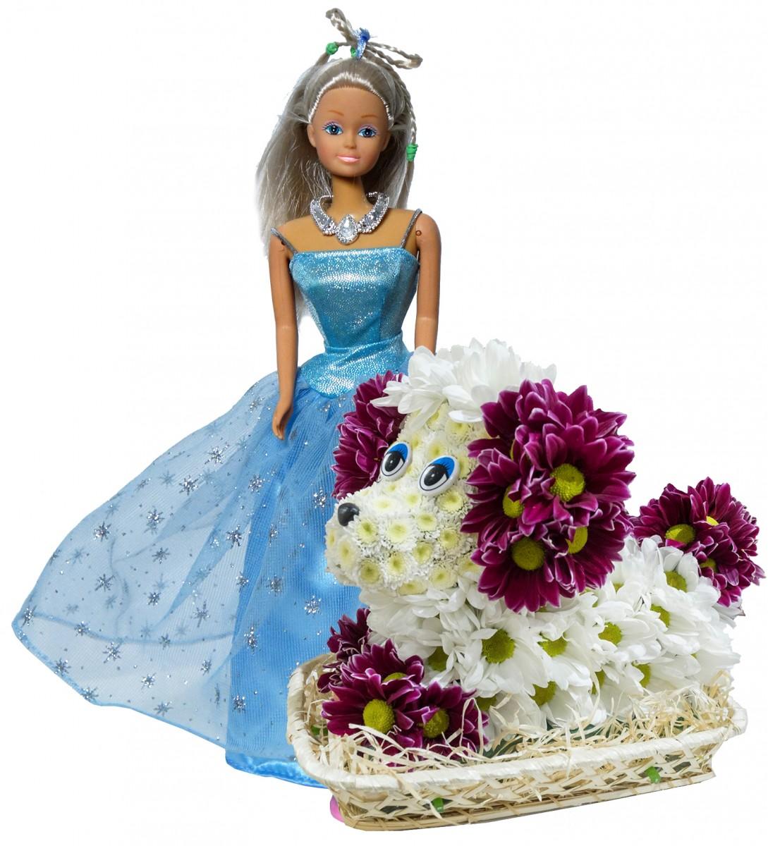 Принцесса с пуделем